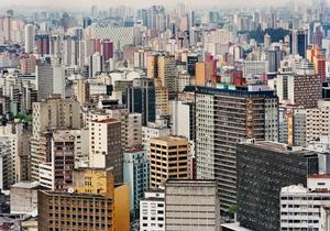 Sao Paulo i Brasilien.
