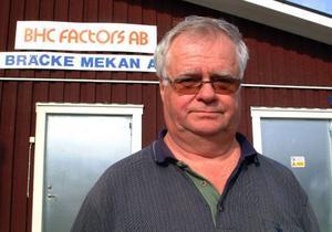 Sten-Göran Westberg har sålt Jemthydraulik i Bräcke.Foto: Ingvar Ericsson
