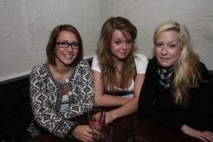 Gränden. Madeleine, Hanna och Klara.