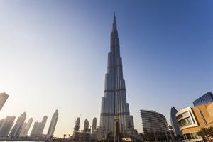 Burj Khalifa är fortfarande högst - men nu byggs ett torn som kan bräcka rekordbyggnaden.