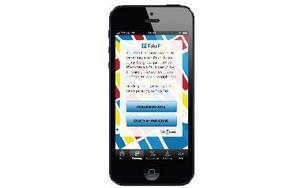 Så här kommer den nya appen att se ut. Foto: Falu P