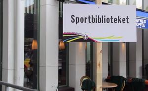 Sportbiblioteket i Sandviken byter namn till Fritidsbanken.