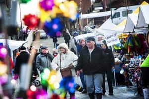 Den anrika Gregoriemarknaden lockar varje år många besökare.