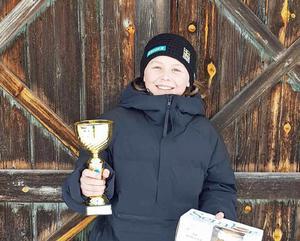 Jennifer Rosén tog två andraplatser i helgens kval till Lilla Världscupen.