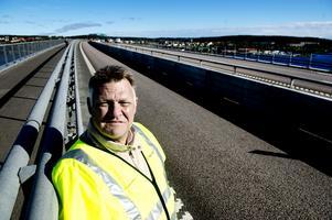 Björn Sjölund, biträdande projektledare på Trafikverket. Bild: Mårten Englin