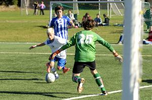 Victor Berghs två mål räckte inte för Forssa i P13-finalen. Avesta vände och vann med 3–2.