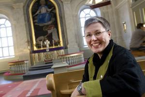 Eva Nordung Byström kommer vigas till biskop vid en högtid i Uppsala domkyrka.