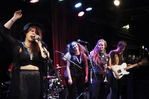 Ladies got the blues gick på högvarv i Östersund torsdag kväll.
