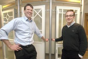 Emendo heter ett projekt som startats vid Svenska Fönster för att göra företaget effektivare och bättre. VD Henk Noback och produktionsdirektör Gunnar Genander ser framtiden an med stor tillförsikt.