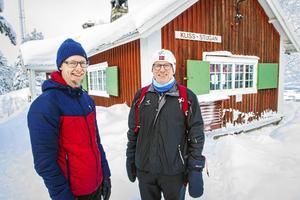 Niclas Säfvenberg och Kenth Edström.