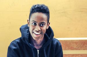 Ali Mohamed, 15, årskurs 9, Ludvika– Det vanliga, plugga och sådär.