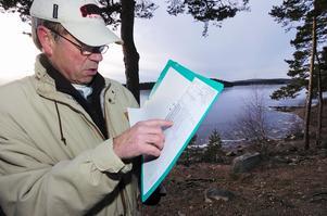 I går kunde Birger Andersson rapportera in till SMHI att Runn hade sköljt. Sedan 1956 har han hållit reda på Runns isläge.