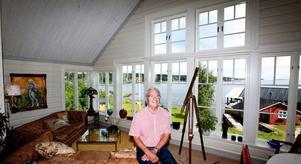 Bo har utsikt över hela havet och nu kan han bara njuta. I dag fyller han 70 år, men har inga planer på att fira.