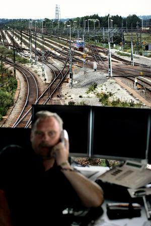 Mycket tyder på att trafikledningscentralen i Hallsberg läggs ned.Arkivfoto: Lennart Lundkvist
