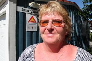 Marie Sscheierman vet att grannsamverkan fungerar mot brott. FOTO: TERESE AHLIN
