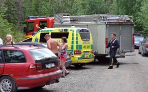 Räddningstjänsten i Gällö har börjat efterlysa en fungerande landningsplats för räddningshelikopter i Forsa.