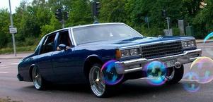 Ännu en bild med bil och såpbubblor!