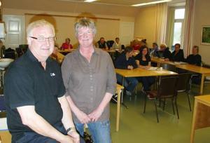 Bo Hansson och Maj-Lis Larsson har under sex dagar utbildat kommunens städpersonal.