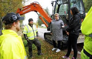 Bia Larsson, vd Fiberstaden, tycker att det är viktigt med fiber för att glesbygden ska vara levande.