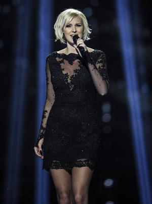 Sanna Nielsen finns bland favoriterna inför den första semifinalen i årets Eurovision Song Contest.   Foto: Andreas Hillergren/TT