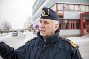 Mikael Hedström, presstalesman på polisen i Gävle.