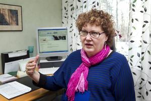 Anade oråd. Meri Ljung blev uppringd av telefonskojare som sa att hon hade fel på sin dator. Dessbättre gick hon inte på den bluffen utan kontaktade polisen i stället.Foto: Margareta Andersson