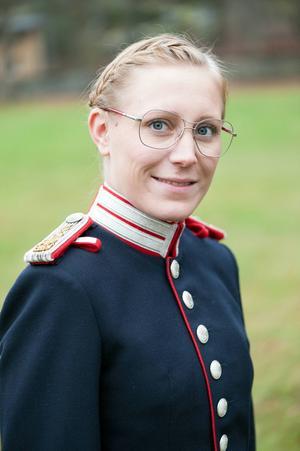 Caroline Walldén är flöjtsolist på söndag.