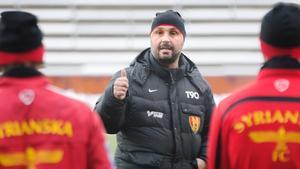 Syrianskas tränare Bosko Orovic.