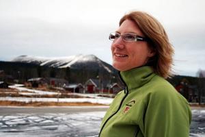 Katarina Lidberg, turistchef, hoppas att projektansökan går igenom så att infrastrukturen och möjligheterna till året runt-turism kan förbättras i Lofsdalen.