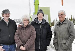 Lennart Nilsson, Margareta Karlsson, Lennart Backlund och Morgan Jonsson är fyra av de lokala elleverantörerna.