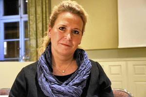 Mia Spendrup föreläste på näringslivsdagen i Lindesberg.