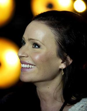 Sara Varga - på lördag är hon discjockey på Stadskällarn.