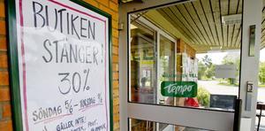 Flera dagligvarubutiker läggs ned varje år i Jämtlands län. Affären i Hackås är den senaste i raden.