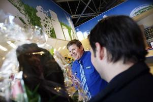 Andreas Eklind är butikschef för City Gross i Hemlingby.
