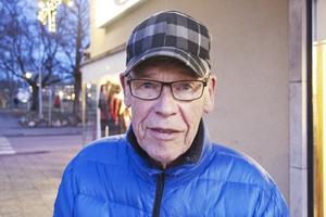 Stig Andersson, 82 år, pensionär, Fagersta: – Det är att jag är lyckligt gift. Jag och Britt har varit gifta i 56 år nu.