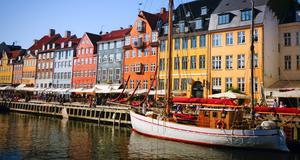 Köpenhamn i Danmark är det mest prisvärda weekendresmålet.