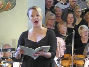 Ida Nordlund Wennerberg, sopran.