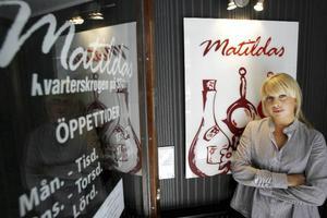 Frida Johansson ser fram emot Matildas nya inredning.