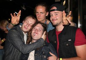 Tommy, Isak, Jonatan, Virgin.