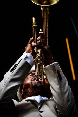 Jazzen gör sig bäst i New York. På bilden: trumpetaren Roy Hargrove.Foto: Jurek Holzer/Svd/Scanpix: