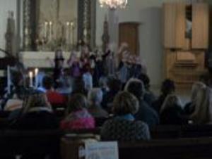 Konserten i Ovanåkers kyrka blev uppskattad.