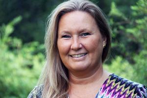 Anette Torvidsson Eriksson kan få ett allergiskt anfall av att gå in i köpcentret Nian i Gävle. Det beror på att det ofta hänger ballonger där.
