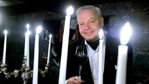 Carl Jan Granqvist uppskattar bra vin.