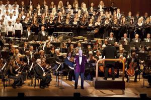 New York-filharmonikerna under en konsert från 2011.