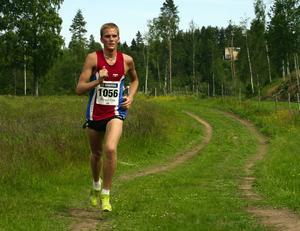 Vinnare. Mikael Lindberg från Edsbyn vann den 29:e upplagan av Orsakajt´n.