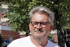 Alf Norberg (V), ordförande i Gävleborgs Kultur- och kompetensnämnd. Arkivbild