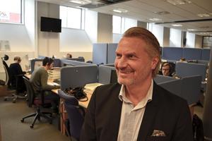 Niklas Thorén tror att Wecall i år omsätter över 24 miljoner, ett nytt rekord i så fall.