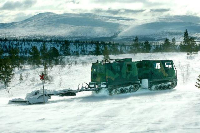 Felaktigt larm om bilar genom isen