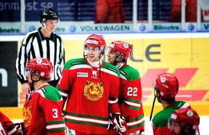 Anze Kopitar har all anledning att vara glad efter segern mot Djurgården. Anzes kvittering till 2–2 höll världsklass.