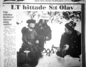 LT:s förstasida 21 januari 1984.